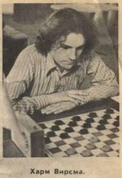 Харм Вирсма  - путь к званию чемпиона (до 1974 года)