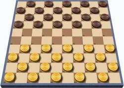 Легенда о стоклеточных шашках