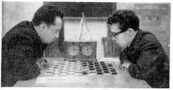 Куперман и подрастающие  шашечные таланты